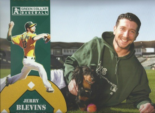 Jerry Blevins with Miley